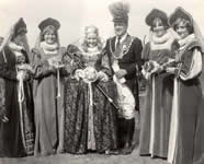 Royal Party 1976 incl. Capt. Jack Allan and Queen Angela McDaid
